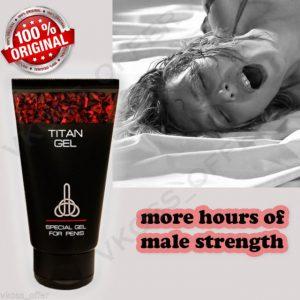 Titan gel - pas cher - Amazon - effets